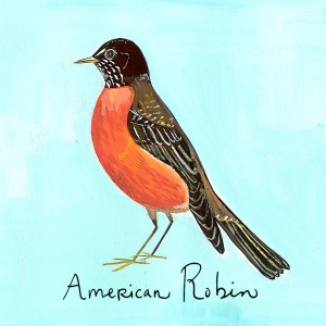 Artist and author Maira Kalman's line of gift and novelty items, created exclusively for Wave Hill and available at The Shop at Wave Hill, capture the character of the robin and other creatures with whom we share the gardens.